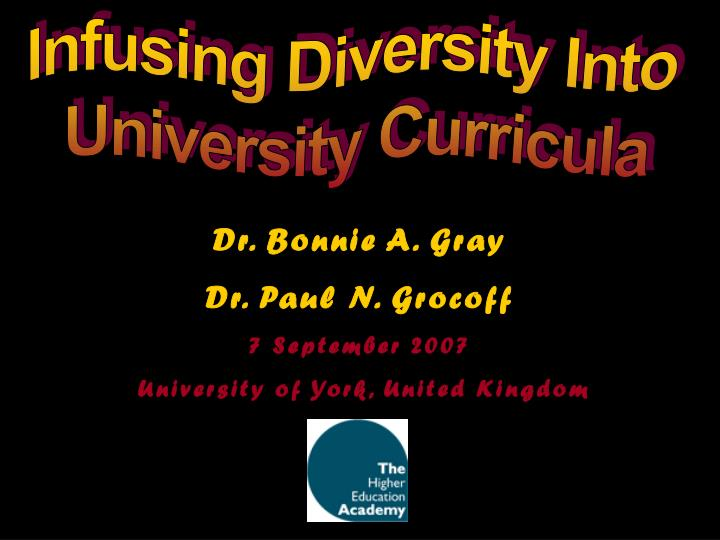 Infusing Diversity Into