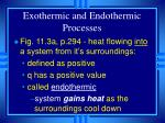 exothermic and endothermic processes10