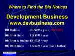 development business www devbusiness com
