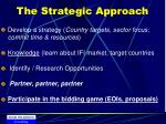 the strategic approach