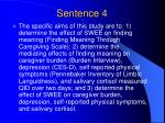 sentence 4