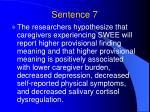 sentence 7