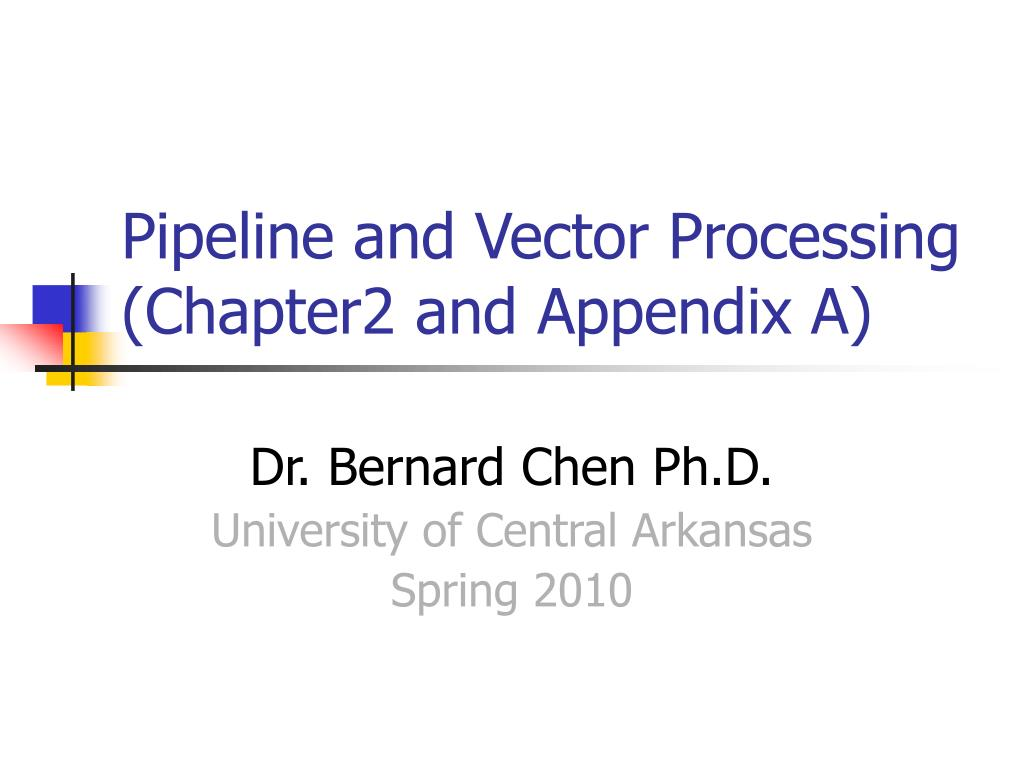 pipeline and vector processing chapter2 and appendix a l.