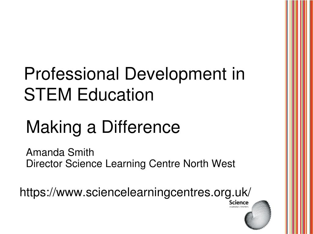 professional development in stem education l.