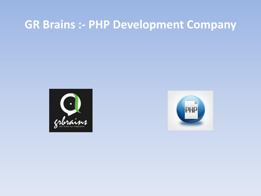 gr brains php development company l.