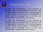 competition cont
