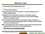 moore s law17