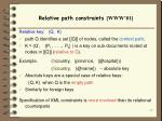 relative path constraints www 01