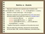 relative vs absolute