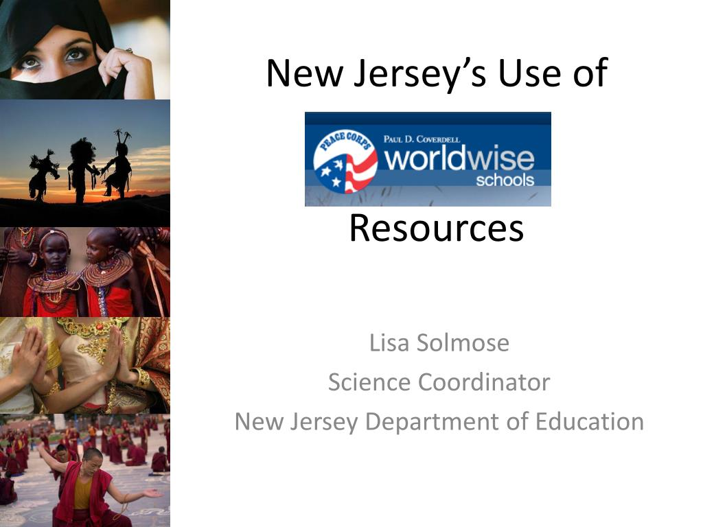new jersey s use of resources l.