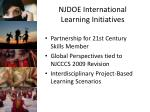 njdoe international learning initiatives