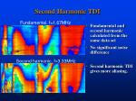 second harmonic tdi