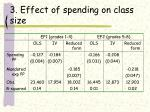 3 effect of spending on class size