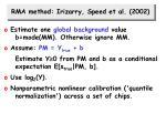 rma method irizarry speed et al 2002