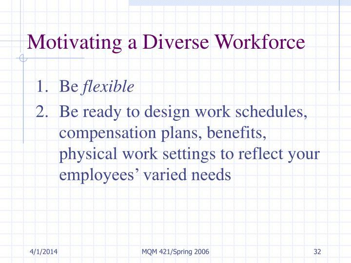 motivate a diverse workforce Ken thomas discusses how to motivate a diverse workforce - sentence ken thomas discusses how to motivate a diverse workforce motivating your.