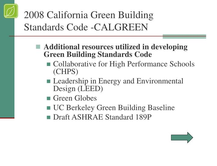 California Building Standards Code Oshpd