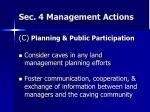 sec 4 management actions8