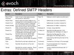 extras defined smtp headers