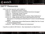 smtp resources