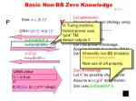 basic non bb zero knowledge