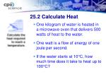 25 2 calculate heat