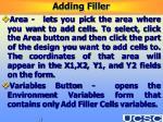 adding filler39