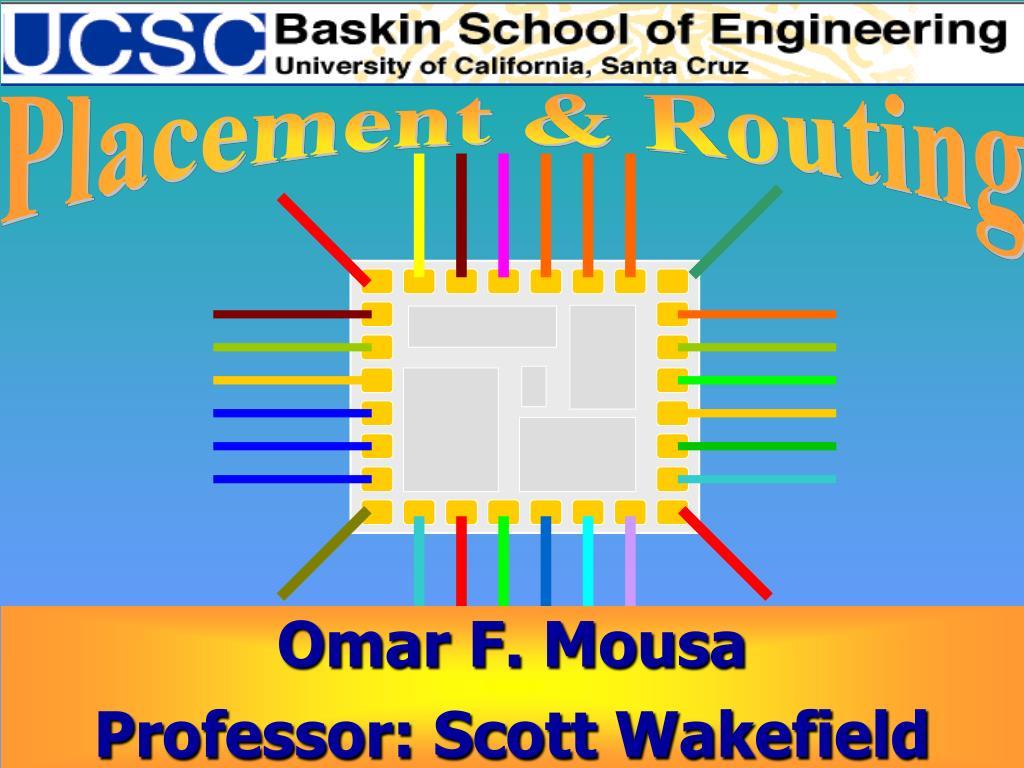 omar f mousa professor scott wakefield l.