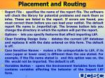 placement and routing7