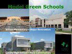 model green schools