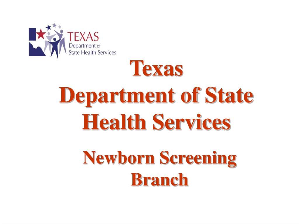 texas department of state health services l.