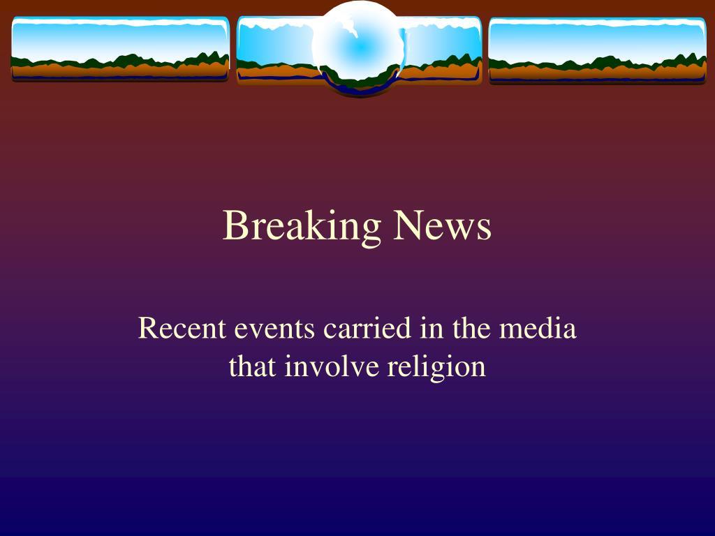 breaking news l.