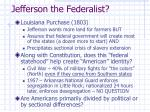 jefferson the federalist