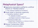 metaphysical space