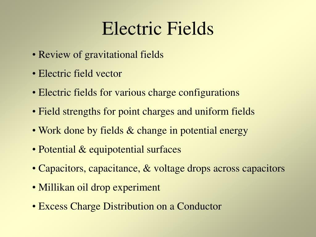 electric fields l.