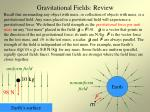 gravitational fields review
