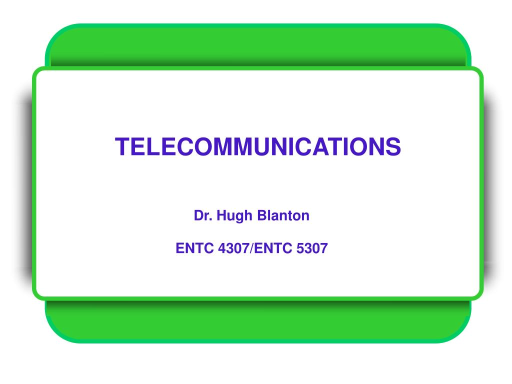 telecommunications l.