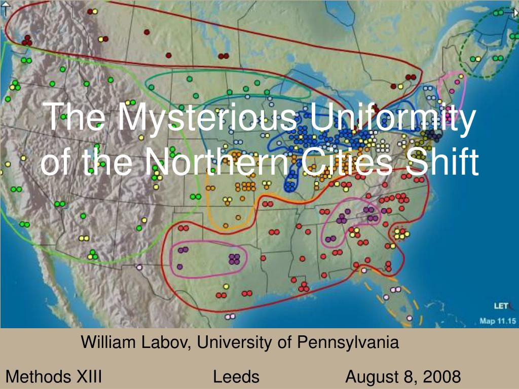 the mysterious uniformity of the northern cities shift l.