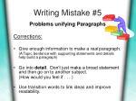 writing mistake 5