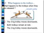 q3 what happens to the trolleys