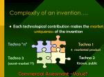 complexity of an invention