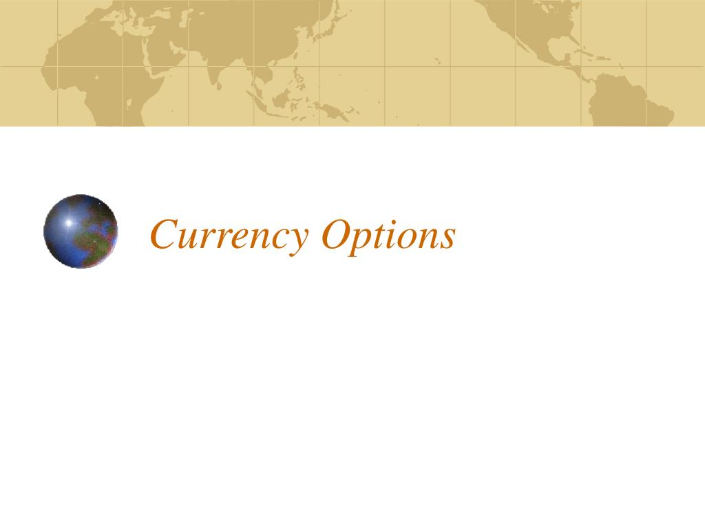 currency options l.