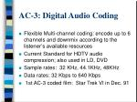 ac 3 digital audio coding