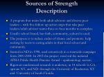 sources of strength description