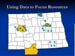 using data to focus resources