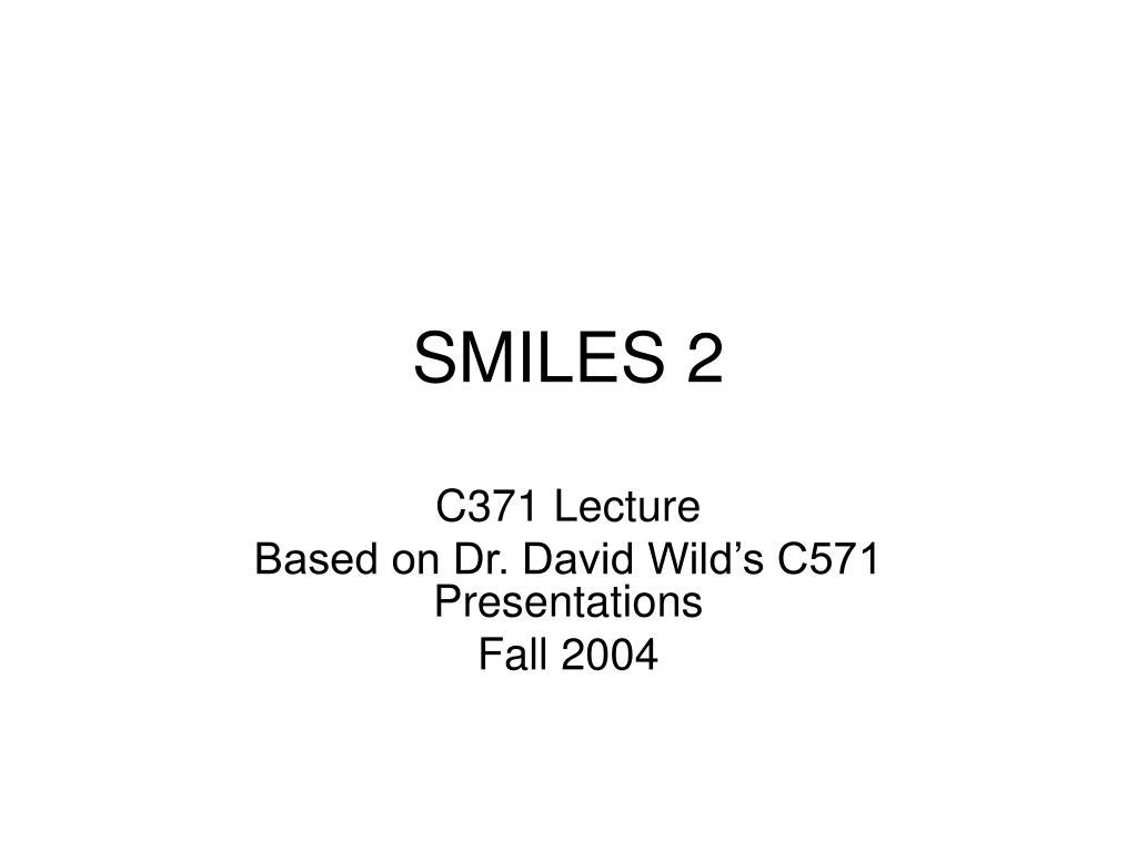 smiles 2 l.