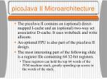 picojava ii microarchitecture41
