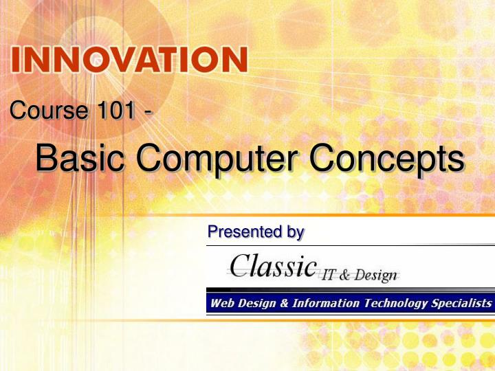 basic computer concepts n.