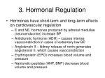 3 hormonal regulation