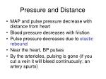 pressure and distance