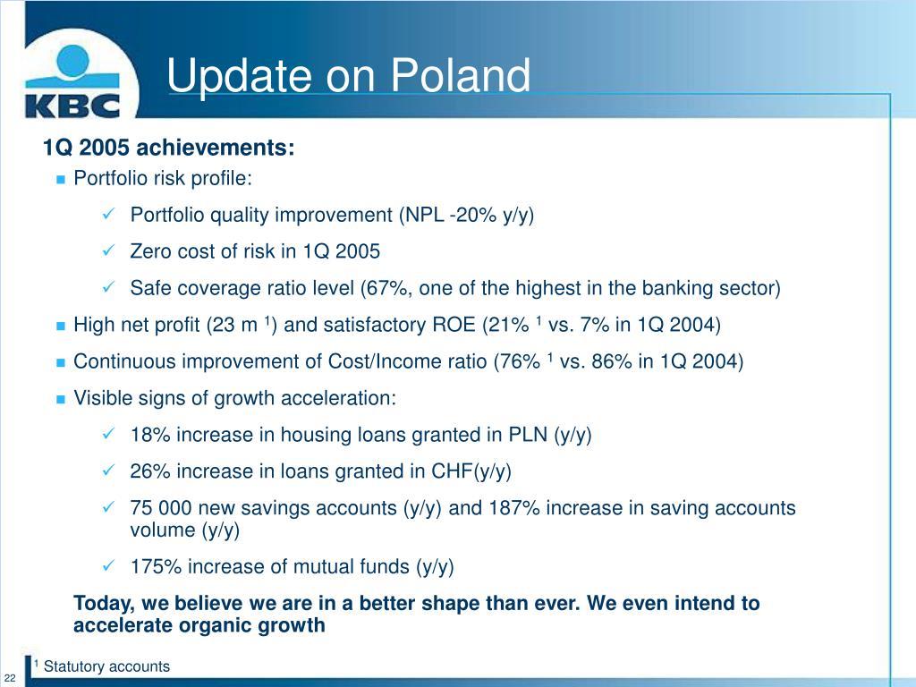 Update on Poland